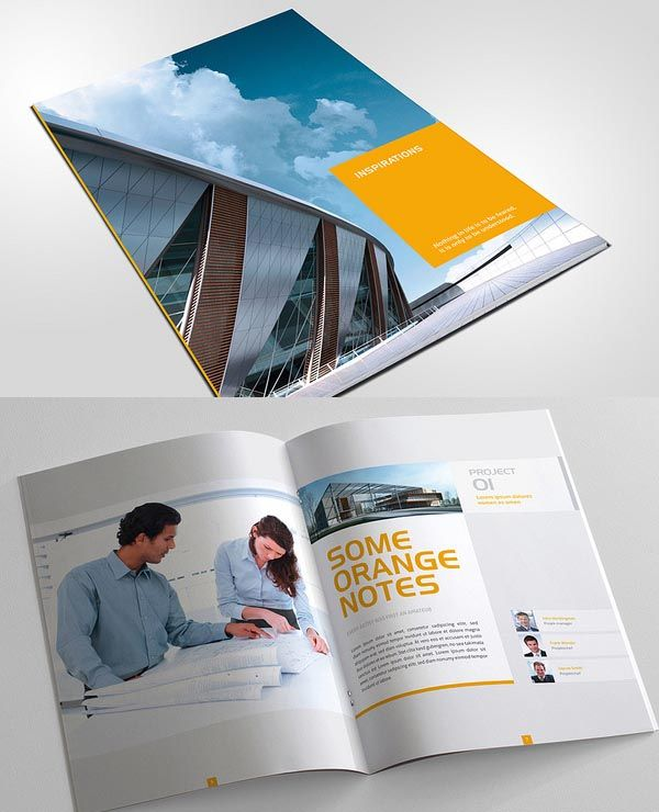 Professionally Design Business Brochure Designs (20 Examples)