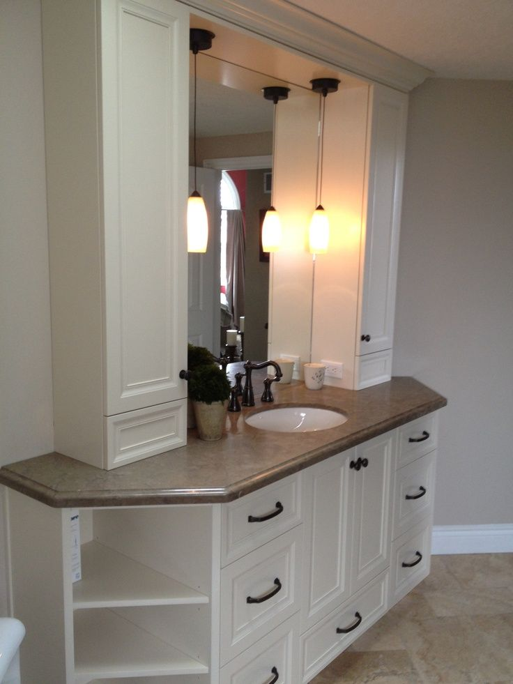 16 Best Images About Bathrm Vanity W Tower On Pinterest