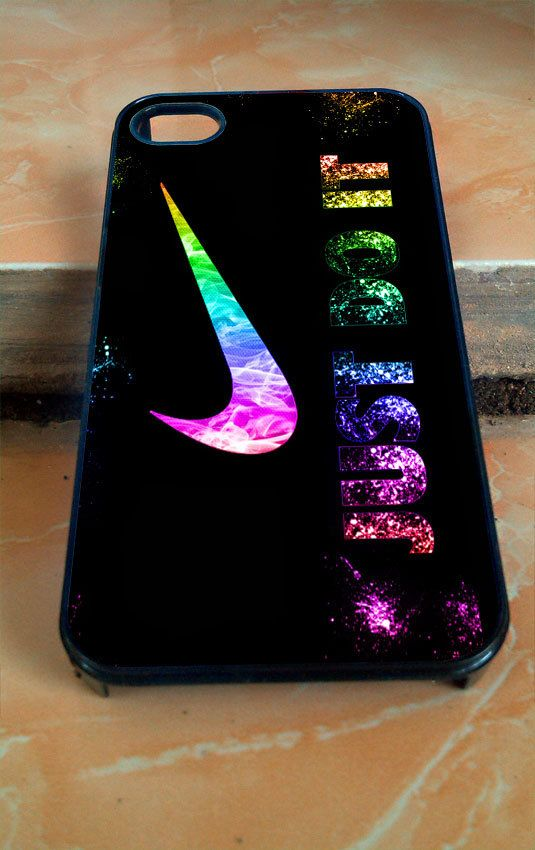 nike just do it glitter for iphone 4 4s 5 5c 5s 6 by. Black Bedroom Furniture Sets. Home Design Ideas