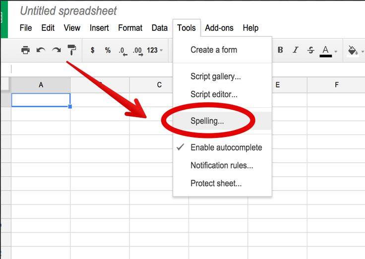 Google Sheets Now Supports Spell Check ~ Educational Technology and Mobile Learning
