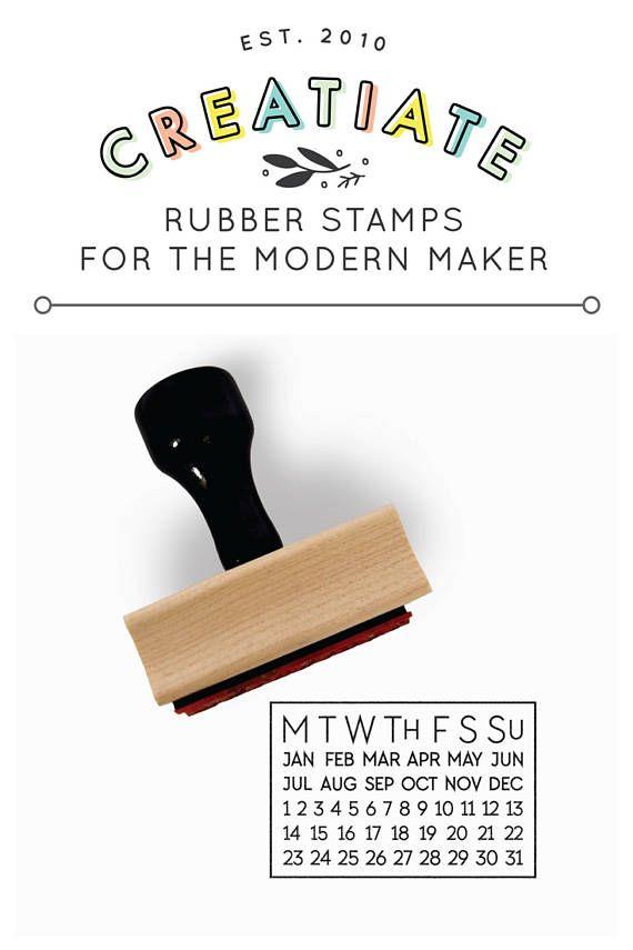 Perpetual Calendar Stamp