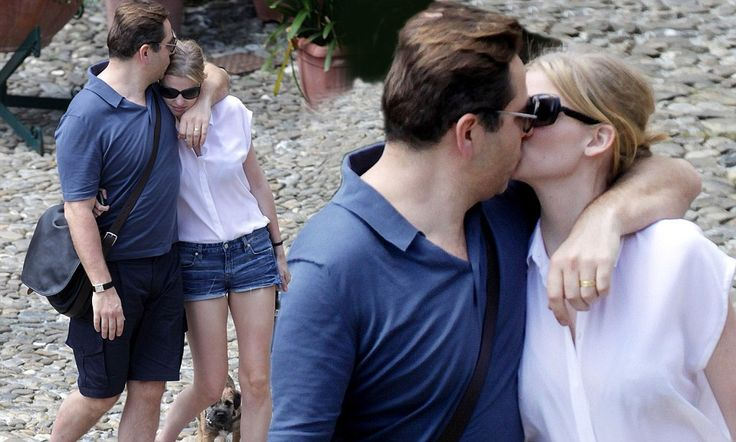 La Dolce Vita! David Walliams enjoys quality time with wife Lara Stone as they take a romantic break in Italy