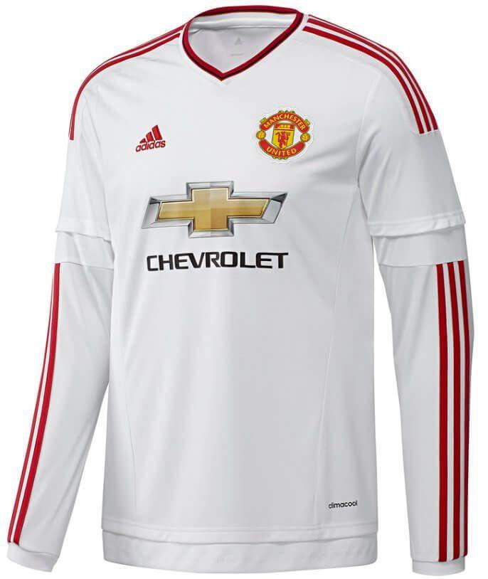 soccer jersey away men 123490 manchester united jersey 2015 2016 away long sleeve adidas original je