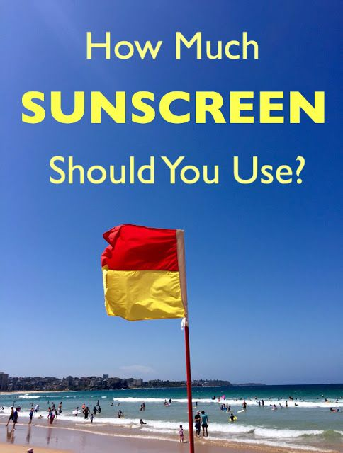 How Much Sunscreen Should You Use? Do you know how much sunscreen you need to use to provide the tested level of protection? Rece...