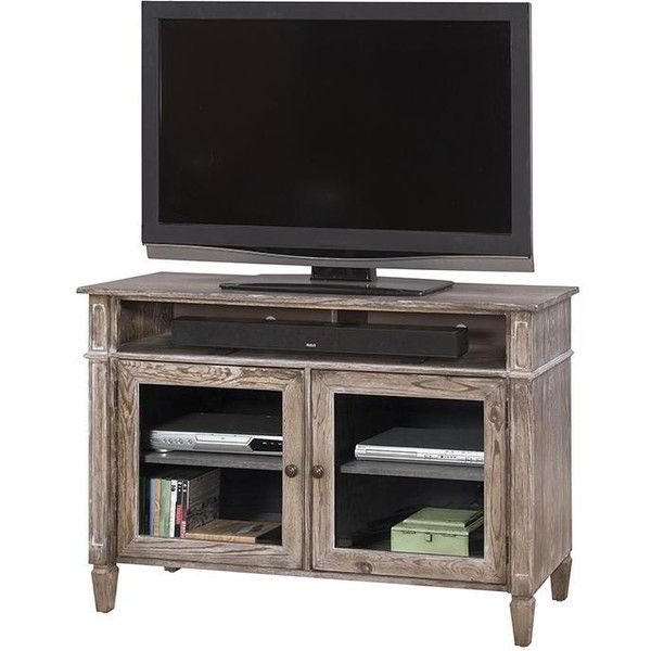 "Kaz 42"" TV Stand ($476) ❤ liked on Polyvore featuring home, furniture, storage & shelves, entertainment units, media storage shelves, tv media stand, flat panel tv stand, storage shelf and book shelf"