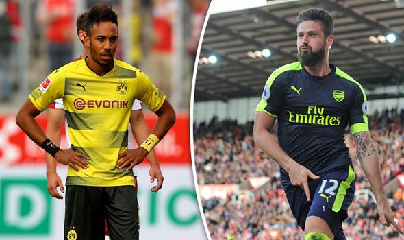 Aubameyang set to join Chelsea as Dortmund prepare move for Arsenal star Giroud - report   via Arsenal FC - Latest news gossip and videos http://ift.tt/2ueTuw9  Arsenal FC - Latest news gossip and videos IFTTT