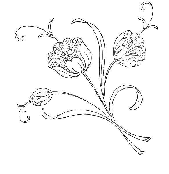 suite fleurs - Broderie d'Antan