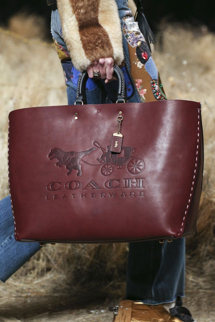 See detail photos for Coach 1941 Fall 2017 Ready-to-Wear collection.