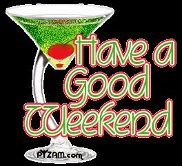Have Good Weekend Clipart - Free Clipart | Happy Weekends