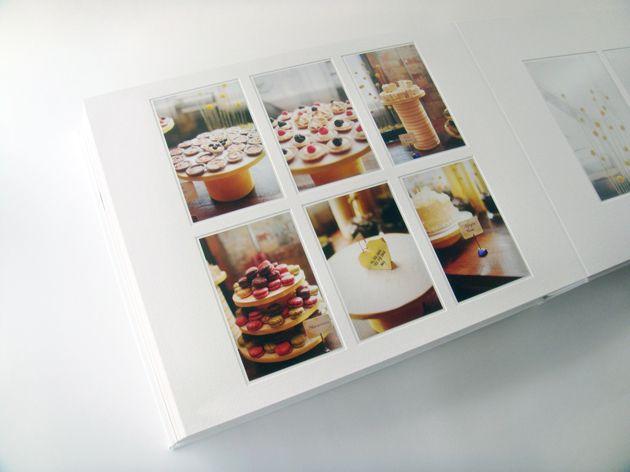 Elegant Matted Book Wedding Album By Mango Studios