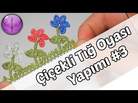Floral Crochet Sample Preparation # 3 HD Quality - YouTube