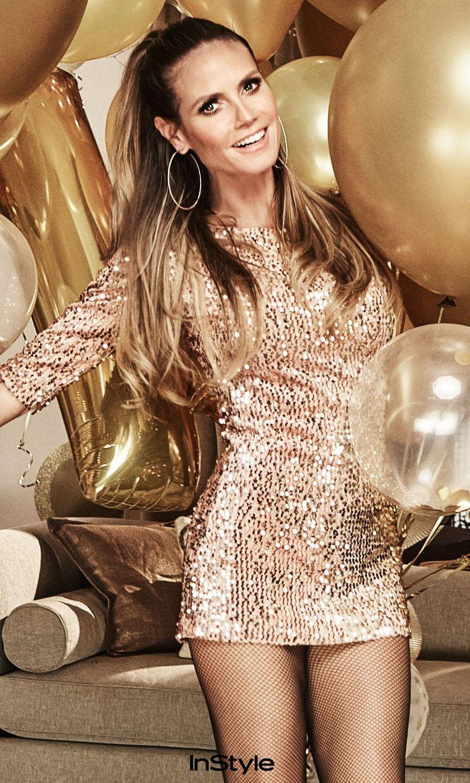 Die Heidi Klum Weihnachtskollektion bei Lidl ist jetzt erhältlich! #heidiklum #lidl #partyoutfit