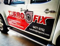 Partial Vehicle Wrap for Turbo Fix