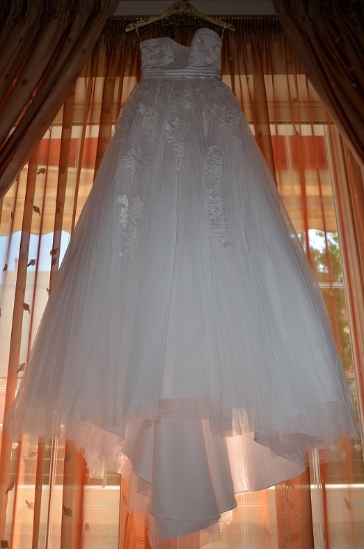 My lovely wedding dress