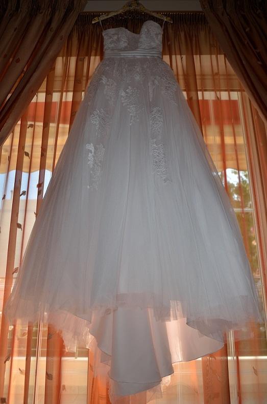 My lovely wedding dress