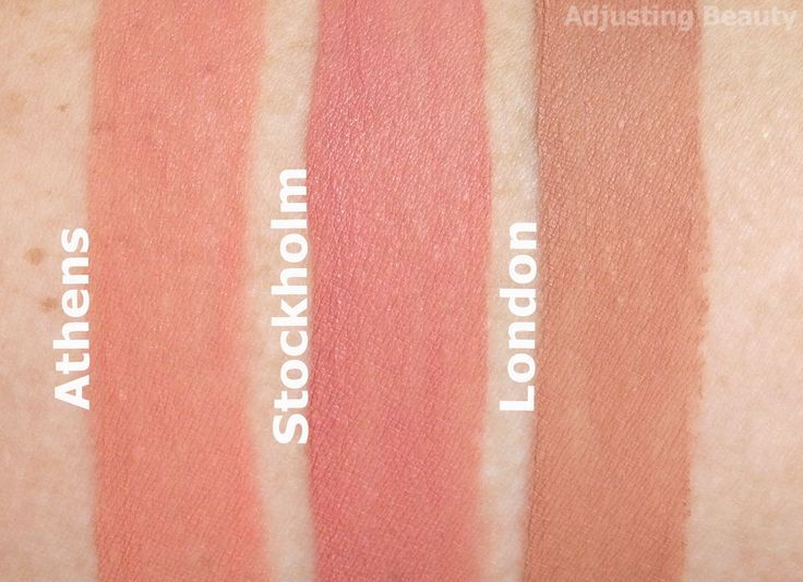 Review of NYX Soft Matte Lip Cream in Athens, Stockholm and London