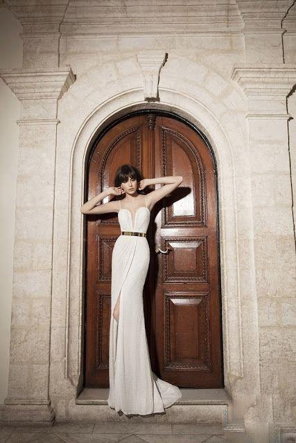 Mermaid Bateau Court Train Lace Wedding Dress with Beading