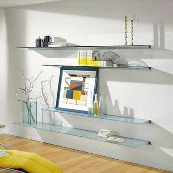 Glass Shelves At Lowes Glass Shelves Bedroom In 2020 Schwimmendes Regal Glasregal Moderne Regale