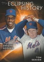 2015 Topps Eclipsing History #EH-5 Tom Seaver Dwight Gooden - New York Mets