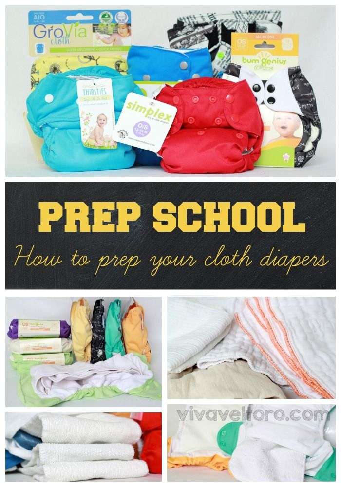A guide to prepping your cloth diapers!  #clothdiapers #makeclothmainstream