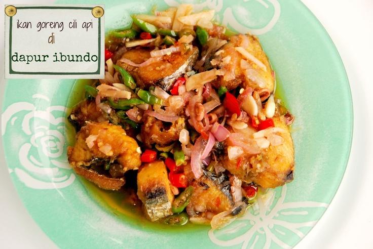 dapur ibundo: Ikan Goreng Cili Api