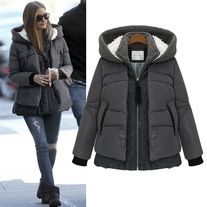 Fashion Woman Outwear thicken cotton-padded coat Size:S/M/L/XL Size choose,pls check the picture.