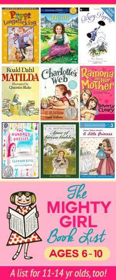 Reading list for girls