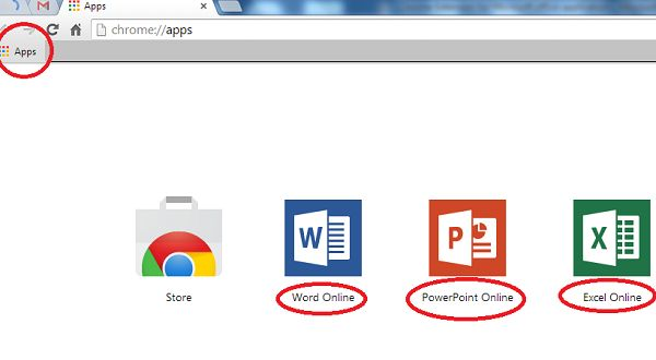 3 important Microsoft Office application available in
