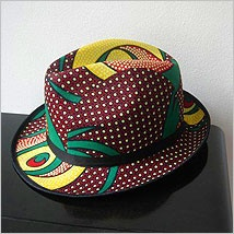 Funky hat from the cool babatundestylin hotstuff for Funky home decor south africa