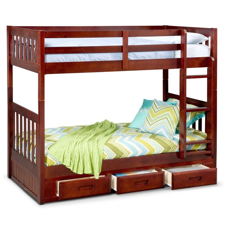 1000+ Ideas About Bunk Beds With Storage On Pinterest