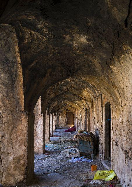 Old Caravanserai Corridor, Koya, Kurdistan, Iraq | by Eric Lafforgue