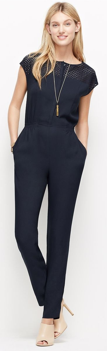 A one-piece wonder you'll want to wear all the time. #jumpsuit #romper