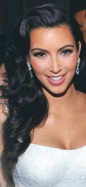 Kim's Elegant Wedding Locks from Kardashians' Best Hair Moments