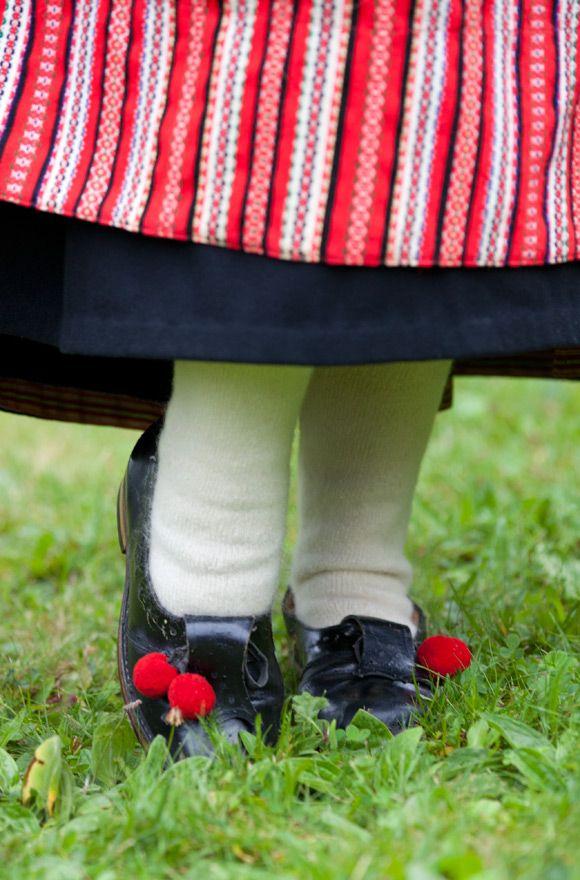 Scandinavian folk dress