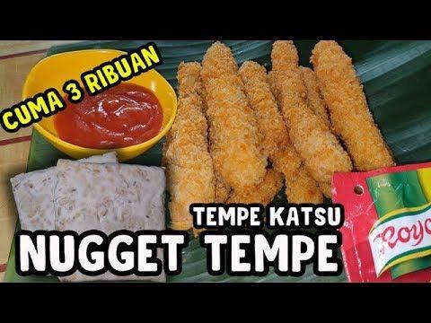 Resep Cara Membuat Nugget Tempe Enak Dan Murah Tempe Katsu Youtube Ide Makanan Makanan Resep Tempe