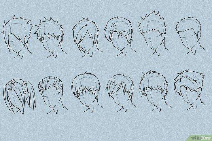 Anime Haare Zeichnen Anime Draw Haare Zeichnen Michael In