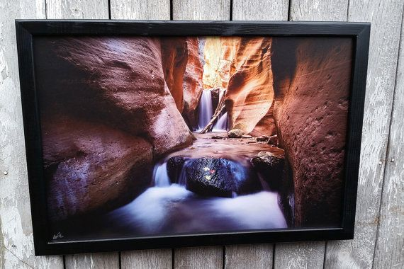 Wood Framed Canvas Print of my Photos by WesleyAstonCreations