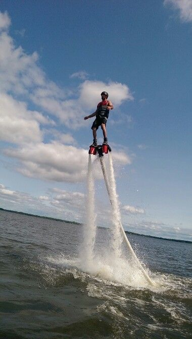 Flyboard time