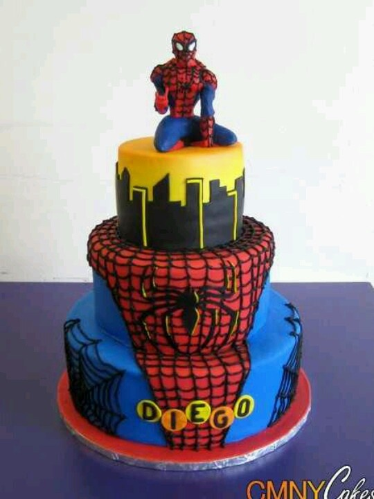 Google Images Spiderman Cake : 17 Best images about Spiderman cake on Pinterest Spider ...