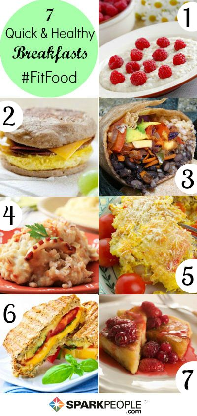7 Quick & Healthy Breakfasts You Haven't Tried! | SparkPeople #food #recipe #morning