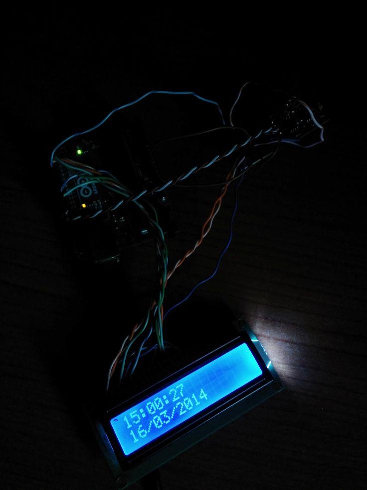 Daniele Alberti, Arduino 's blog: Visualizza data e ora su un display, con Arduino e...