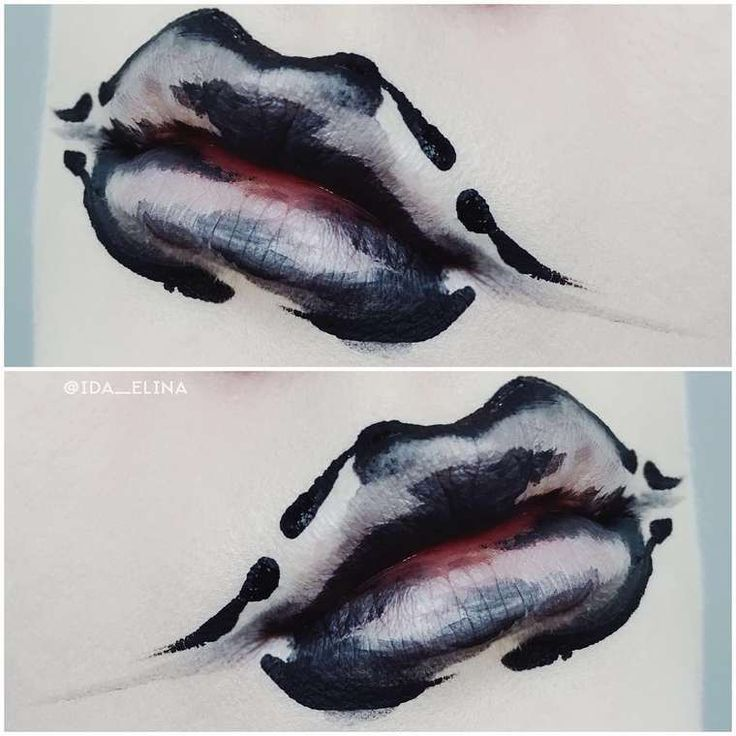 Abstract Splashes – Les maquillages créatifs de l'artiste Ida Ekman (image)