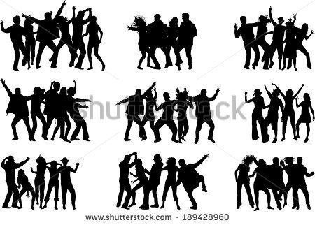 Dancing silhouettes by Nowik Sylwia, via Shutterstock