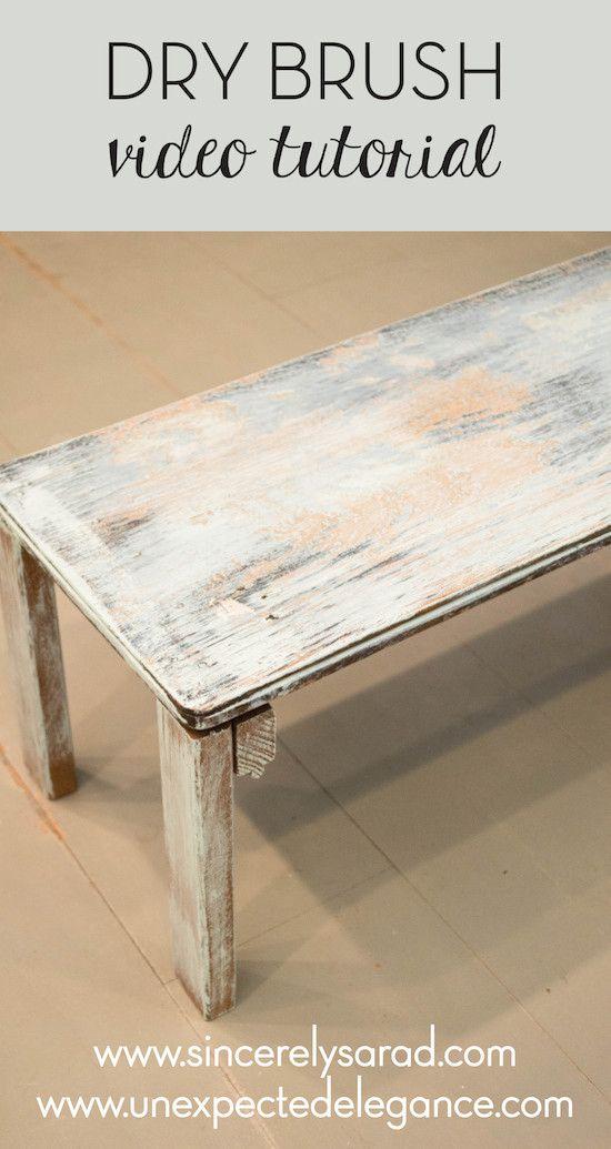 furniture painting techniquesBest 25 Furniture painting techniques ideas on Pinterest  Chalk