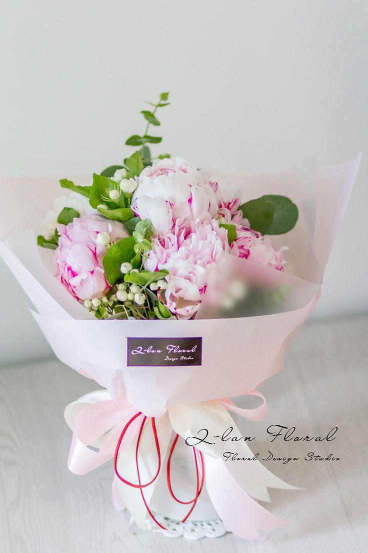 苏州国产芍药牡丹鲜花花束情人节生日拜访探望礼物园区相城吴江