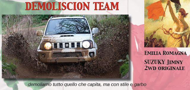 53_DEMOLISCION TEAM  http://rallydeglieroi2016.blogspot.it/p/catalogo-degli-eroi.html #rallydeglieroi #sonouneroe #Garibaldi @RobertoCattone