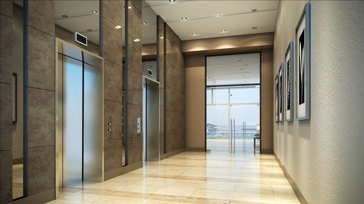 Modern condo elevator lobby google search residential for Elevator flooring options