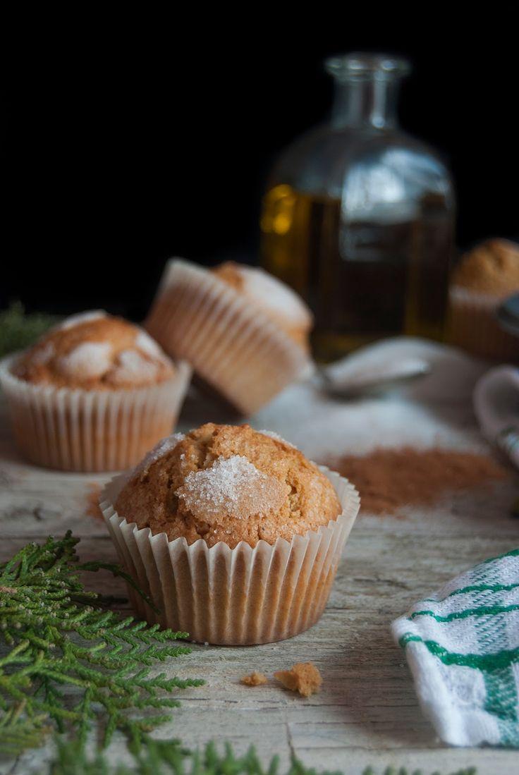 La asaltante de dulces: Receta de magdalenas especiadas/ Spiced sponge cakes recipe