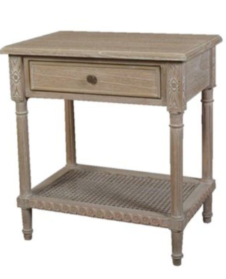 Polo Timber Side Table - Oak – Allissias Attic & Vintage French Style