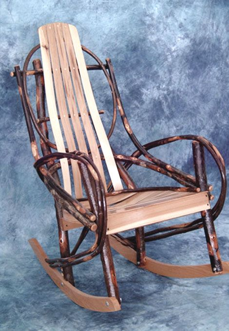 Love this Amish Rocking Chair! Loved it so much I bought one in Stockholm, WI at an Amish shop!